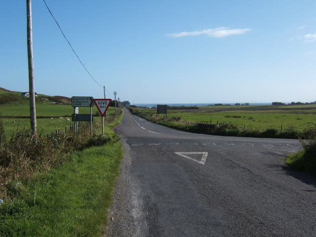 Junction of the B8016 and the A846