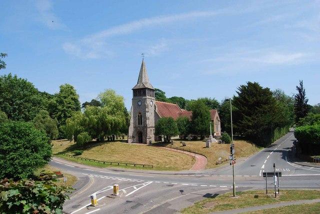 Parish church of St Nicholas in Wickham