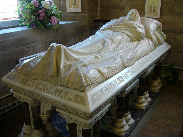 Countess of Wemyss' tomb, Aberlady