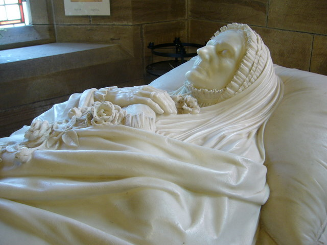 Countess of Wemyss' tomb detail
