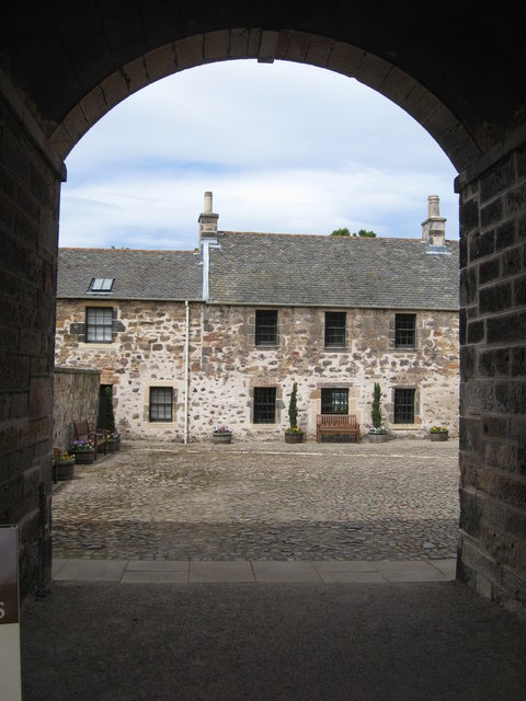 The Stable yard at Newhailes