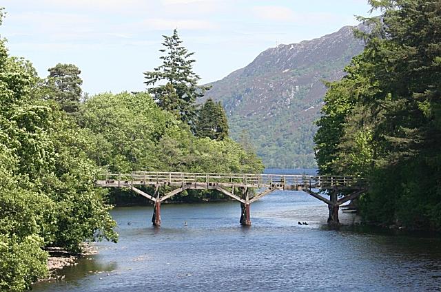 River Oich and Trestle Bridge