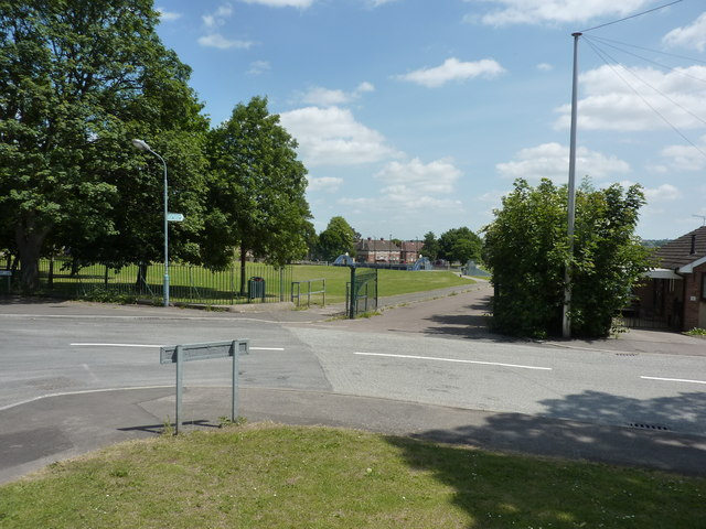 Recreation ground at Stand Road, Chesterfield