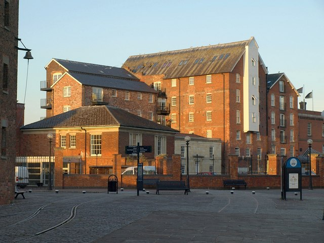 Buildings at Gloucester Docks