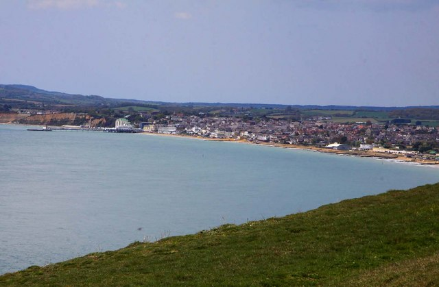 Sandown from Culver Cliff