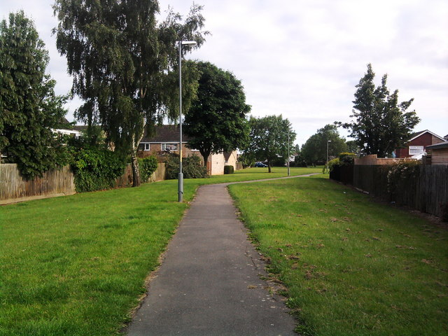 Footpath from Sunningdale Drive, Eaglescliffe