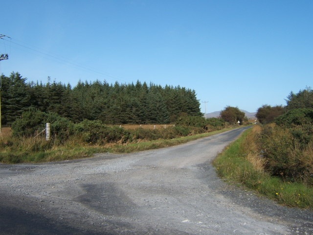 Minor road to Cluanach