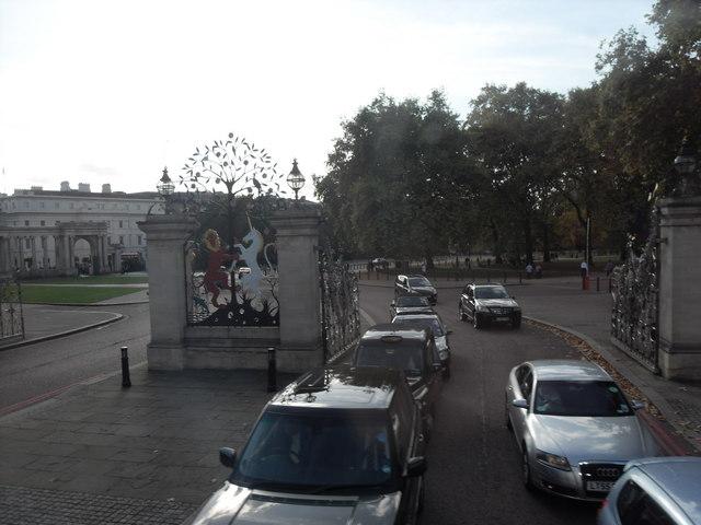 Queen Elizabeth Gates, Hyde Park, London.