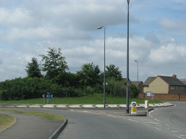 Webb's Wood roundabout