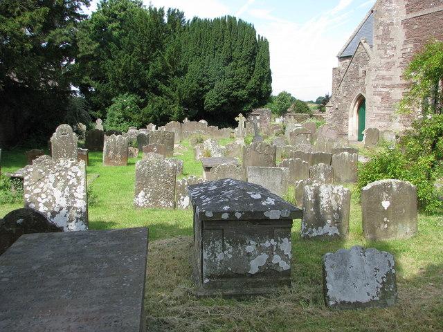 Winterbourne churchyard