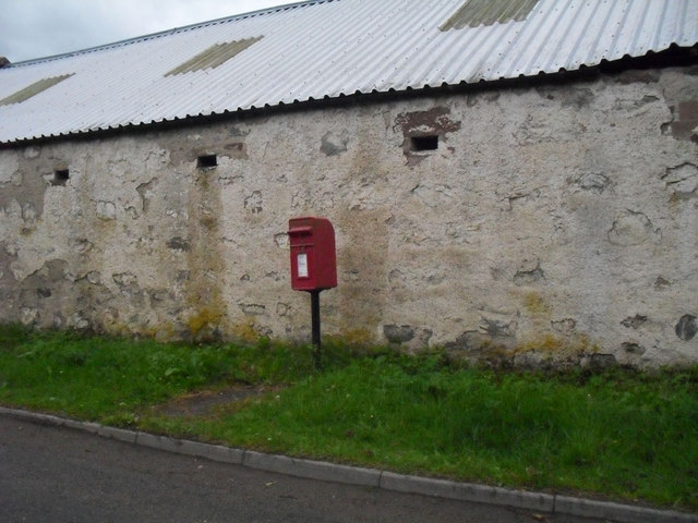 Post box at Achterneed
