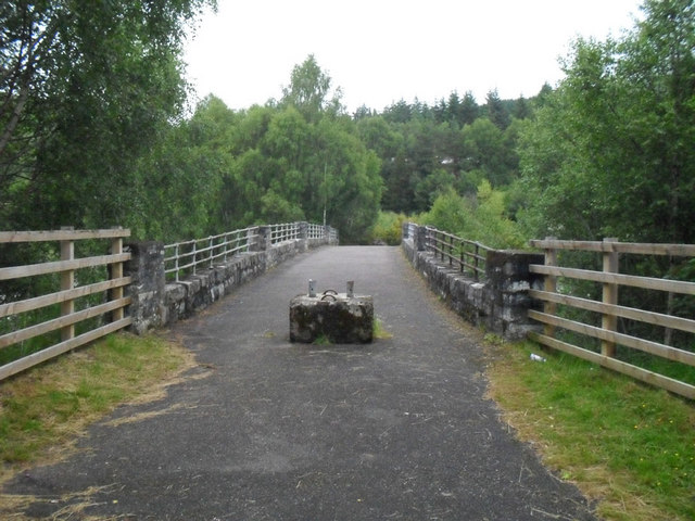 The Old Bridge over the Black Water