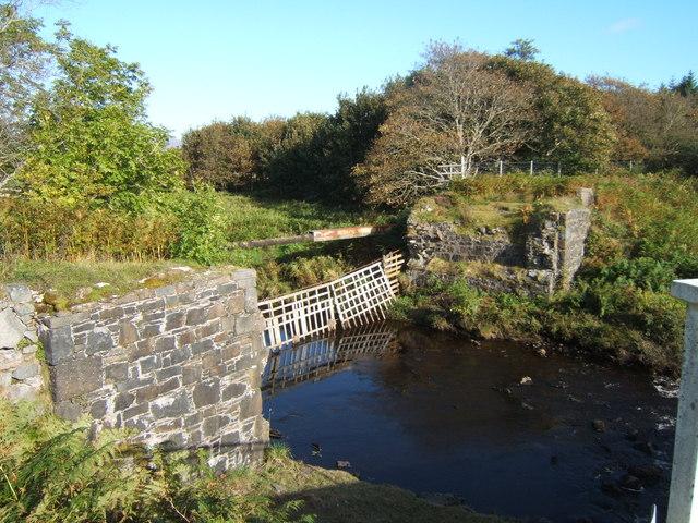 Old Laggan Bridge in September