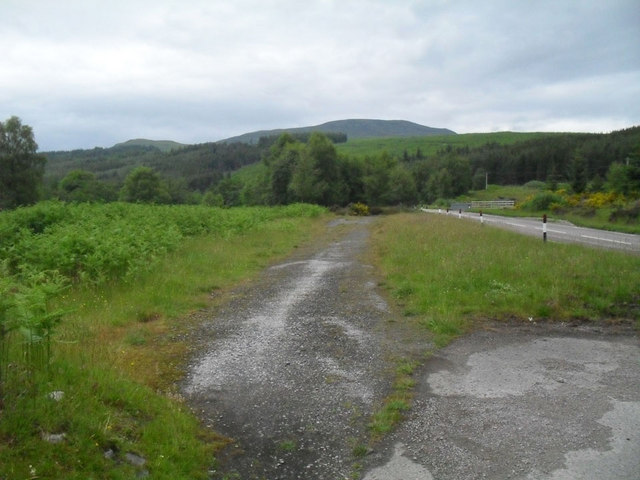 Remains of the old road to Ullapool