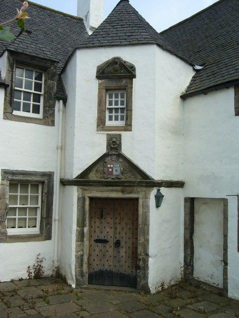 Hamilton House doorway
