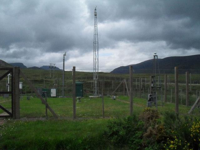 Glascarnoch weather station