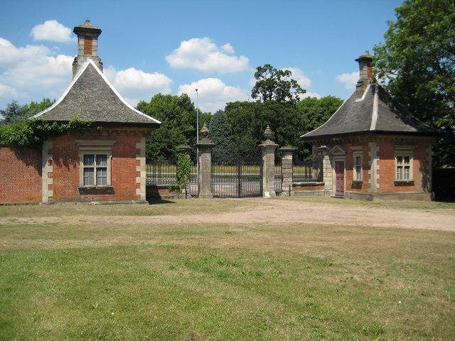 Gate Lodges, Tredegar