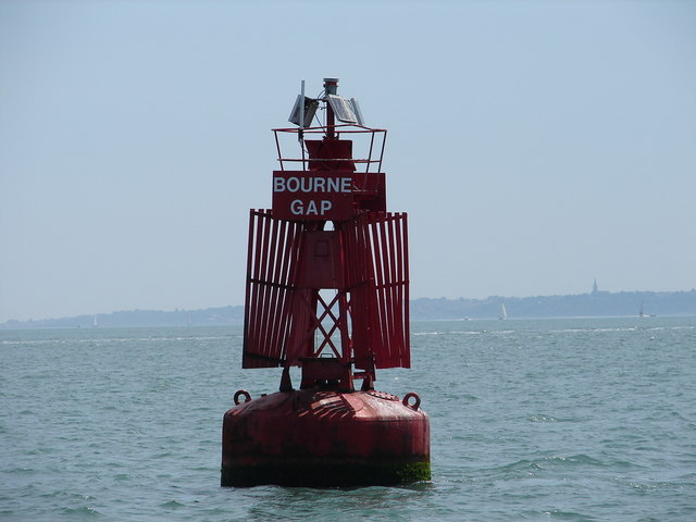Bourne Gap port channel buoy