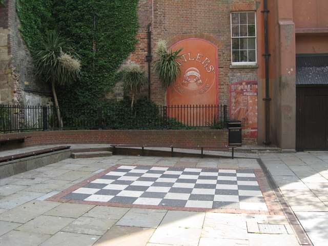 Giant Chess Board, George Street