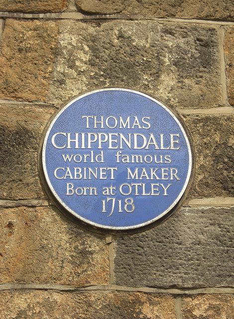 Thomas Chippendale's blue plaque