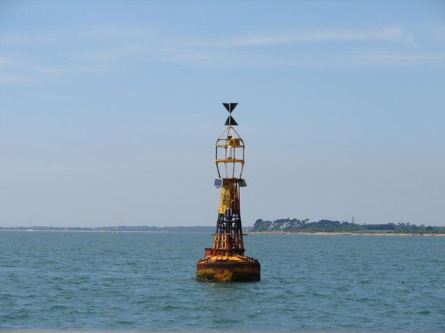 West Bramble cardinal buoy