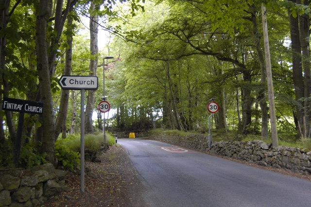 Road out of the village.