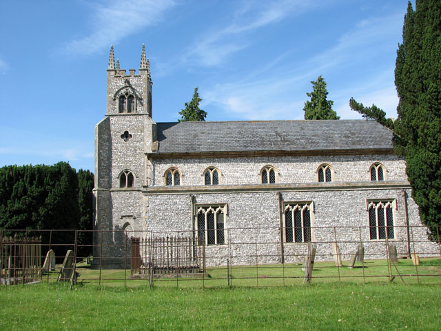 St Martin's church in Houghton