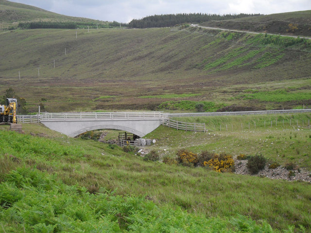 The new bridge at Rhue