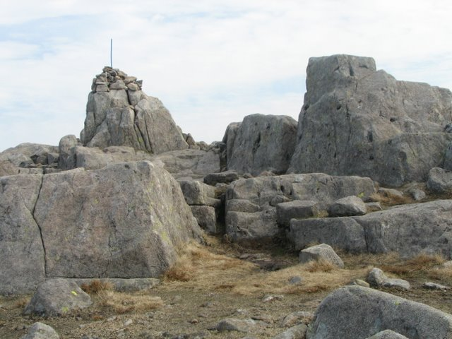 The Summit and Cairn of Cold Pike