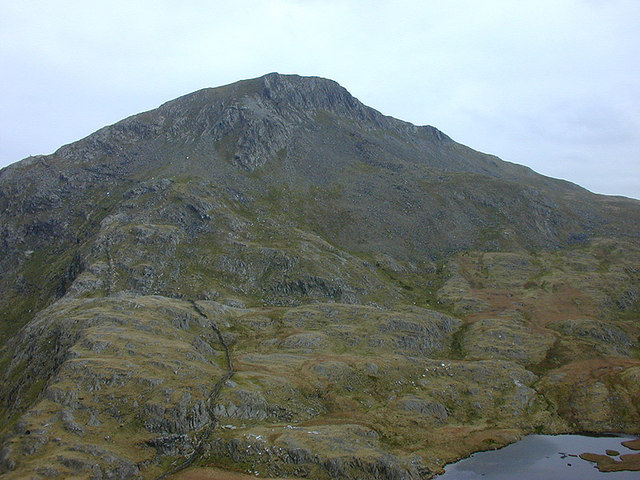 The northern side of Yr Aran