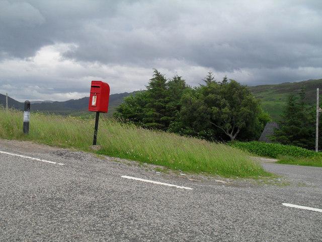 Strathcannaird post box