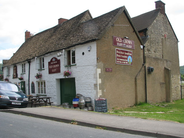 The 'Old Crown' at Uley