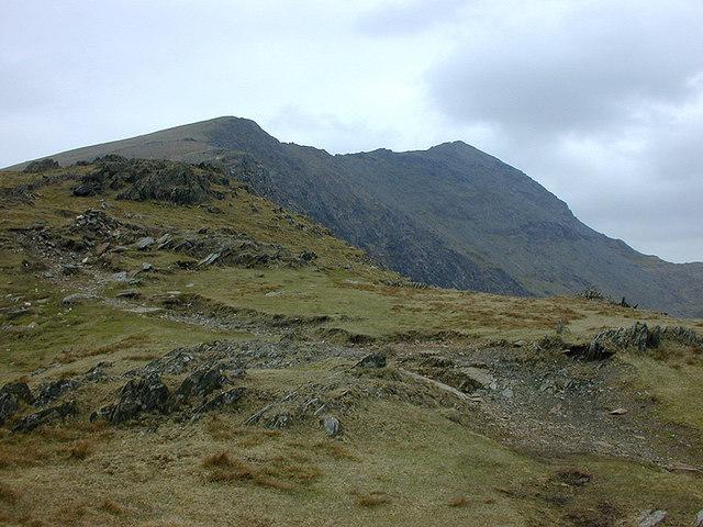 The path on Allt Maenderyn