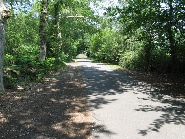Link road to Brookside Farm