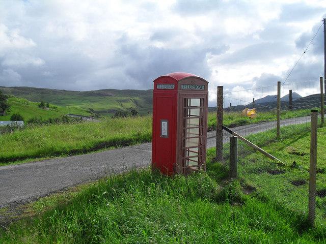 Elphin telephone box