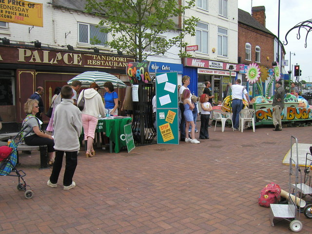Stalls at Abbey Green fun day