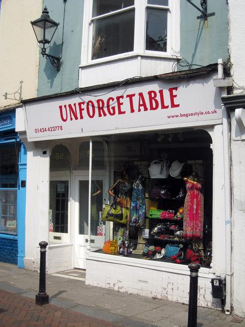 Unforgetable, George Street