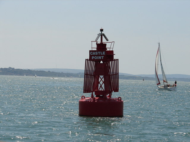 Castle Point port channel buoy