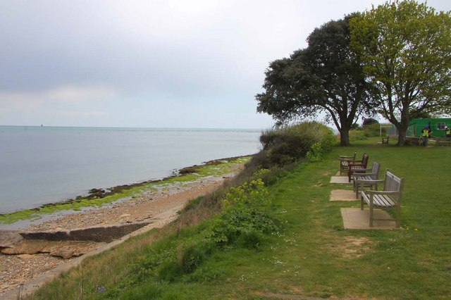 Benches looking out to sea