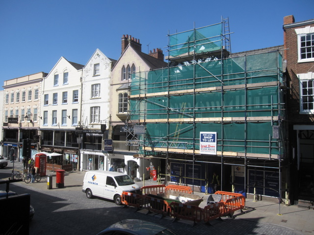 Former Yorkshire Bank in Bridge Street