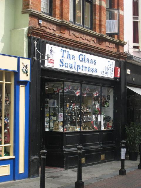 The Glass Sculptress, George Street