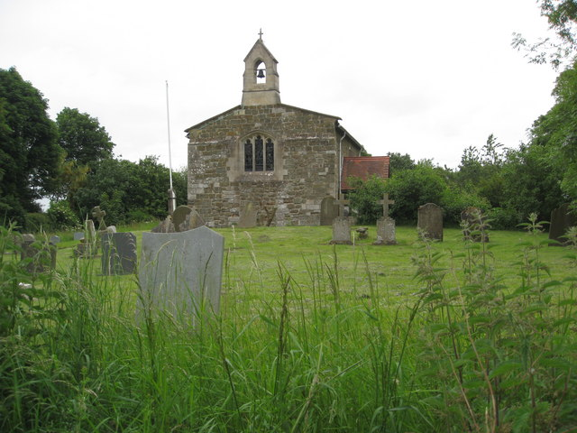 Greetham - All Saint's Church and graveyard