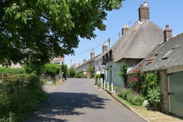 Cottages at Lower Bockhampton, Dorset