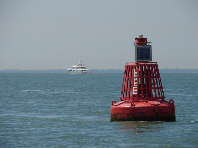 East Lepe port channel buoy