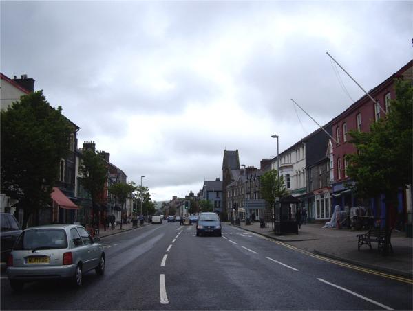Street scene,Machynlleth