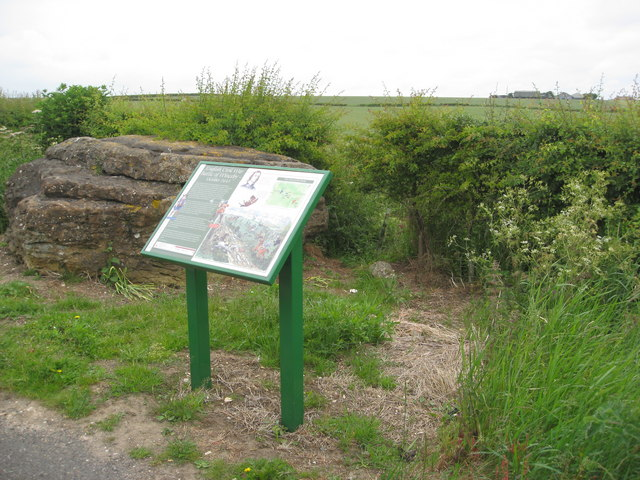 Winceby Battlefield and Information Board