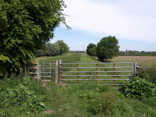 Gate on the Severn Way