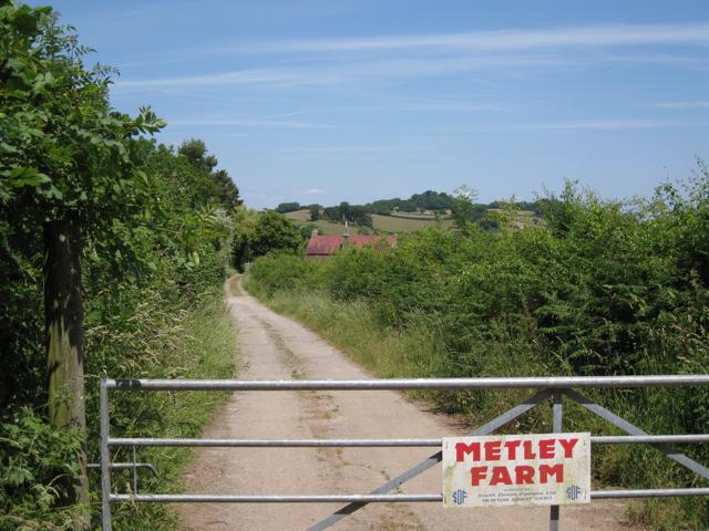 Entrance to Metley Farm