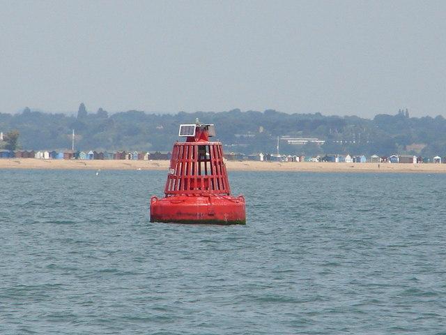 North East Gurnard port channel buoy