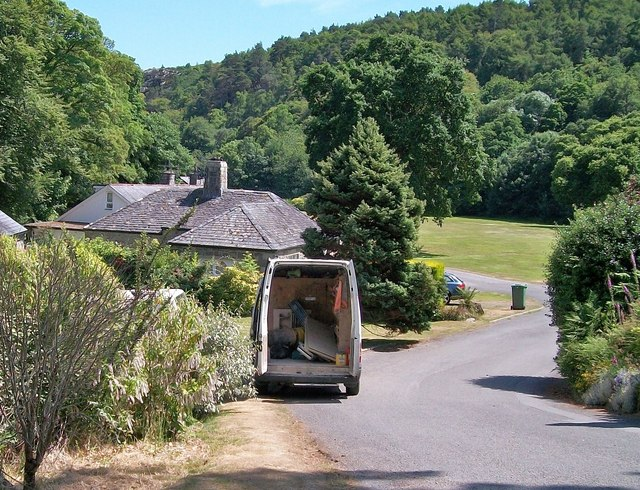 The grounds of Plas Glyn-y-weddw